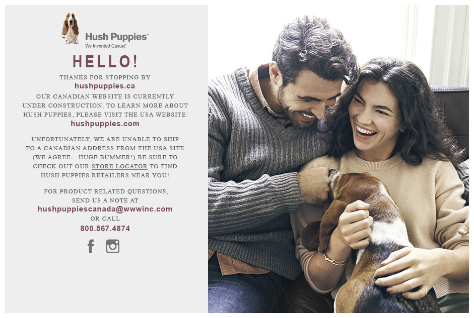 Hush Puppies Canada