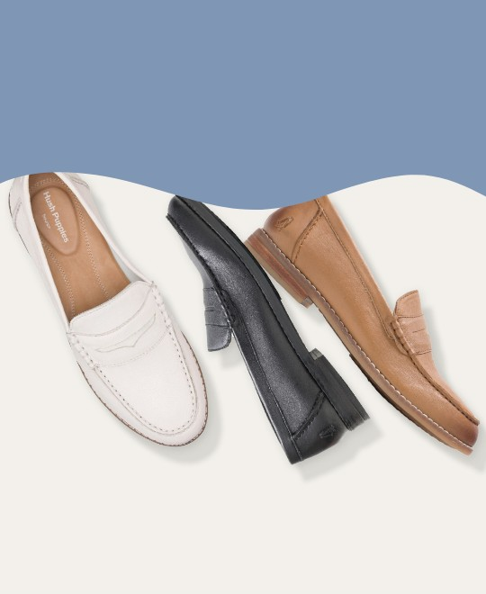 Womens Wren white, black and brown shoes.