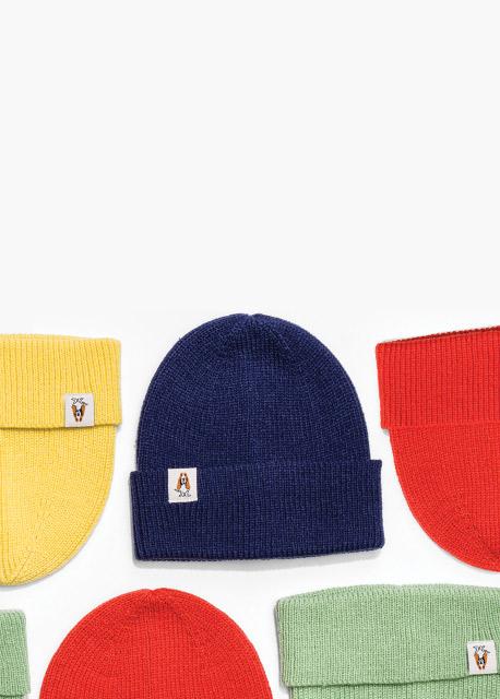 Beanie tricoté