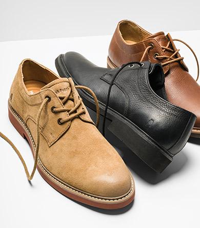 Men's Oxford shoes.