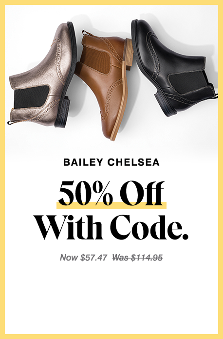 Balck Bailey Chelsea Boot