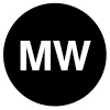 The letters M and W (for medium wide)