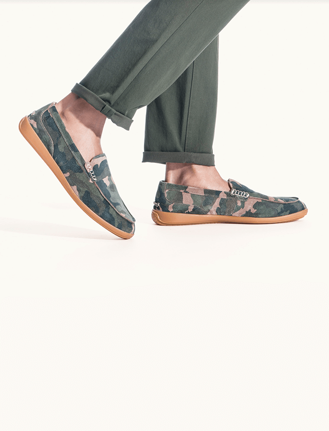 man wearing a pair of shoes