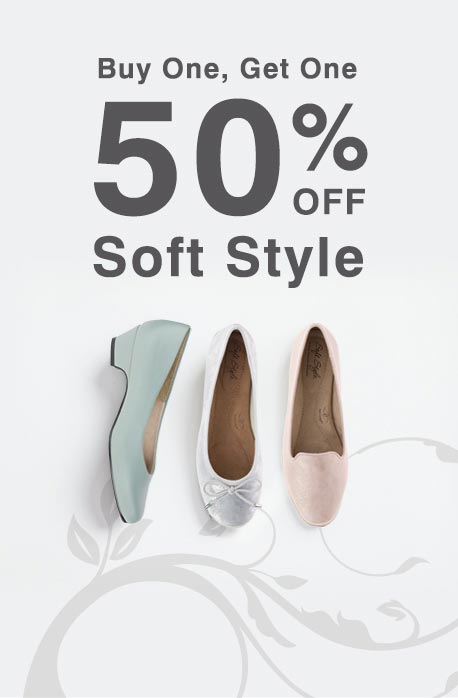 Buy One Get One 50% OFF Soft Style