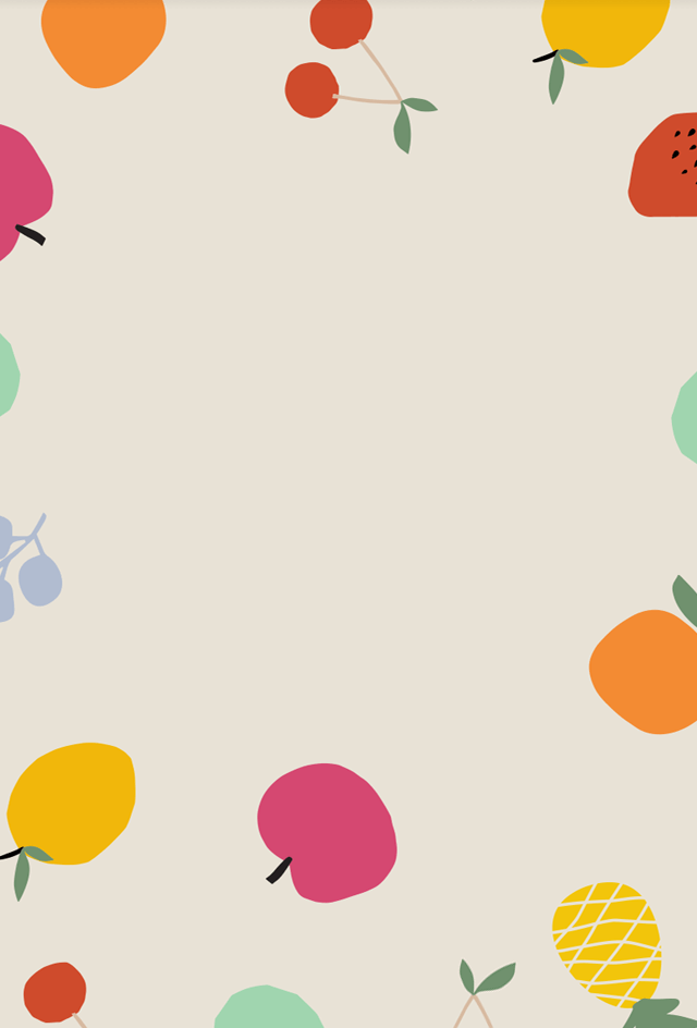 Summer fruity background.