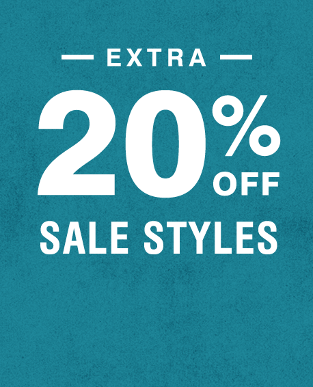 Extra 20% Off Sale Styles