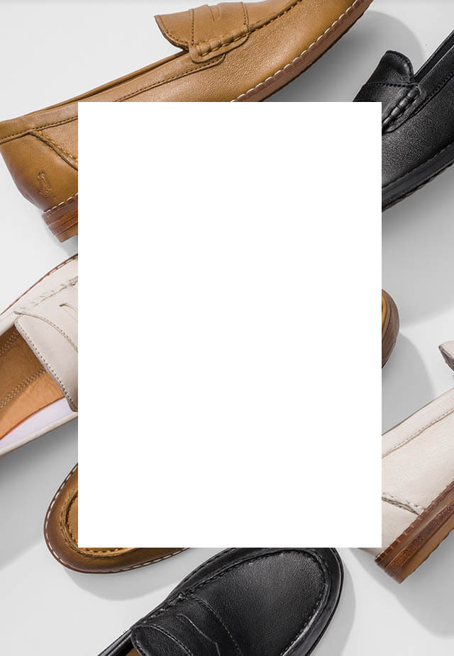 Water-resistant suede loafers in a variety of colors.