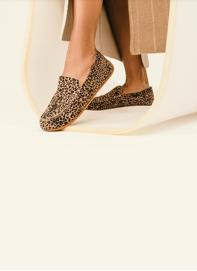 Hush Puppies Leopard-Print Cora Shoes