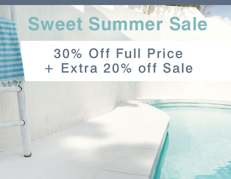 Sweet Summer Sale | 30% Off Full Price + Extra 20% Off Sale