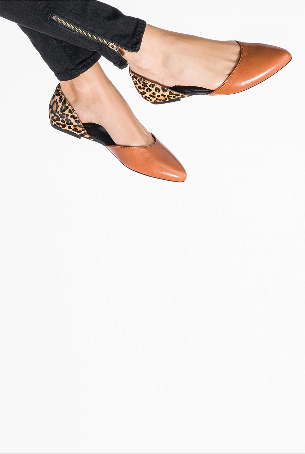 spring leopard print flats.