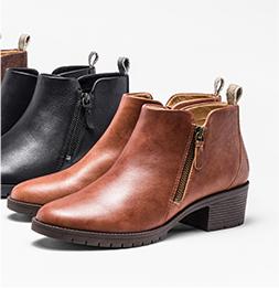 Women's Worryfree shoes.
