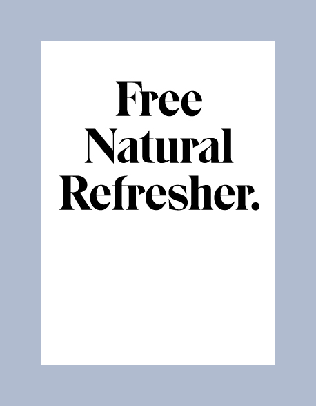 Free Natural Refresher