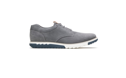 Grey oxford sneaker.