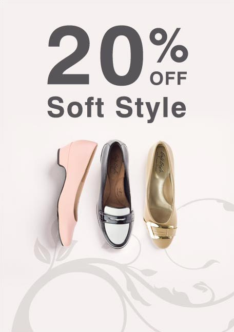 20% off soft style
